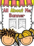 All About  Me Classroom Banner