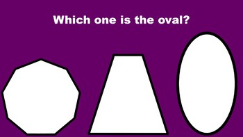 All About Ovals - A PowerPoint Game