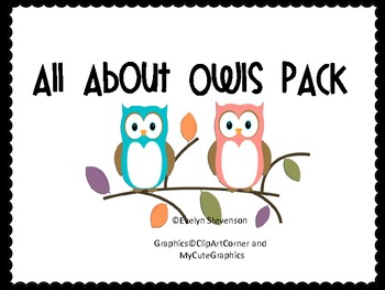 All About Owls Pack