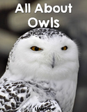 All About Owls Reading and Writing Unit