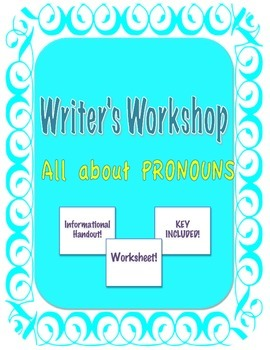 PRONOUNS FOR 7-12 GRADES! **Great deal!**