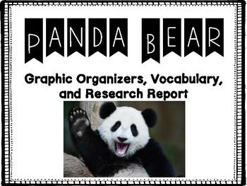 All About Panda Bears!