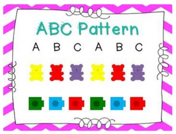 All About Patterns - Math Centers and So Much More {Common Core Aligned}