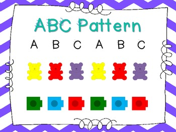 All About Patterns - Posters Only {Common Core Aligned}