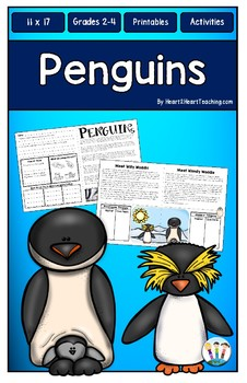 All About Penguins: BIG-MATS® are FUN in a BIG Way! {11x17}
