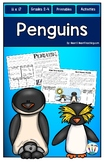 All About Penguins: BIG-MATS are FUN in a BIG Way! {11x17}