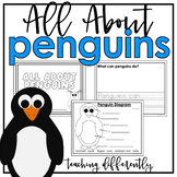All About Penguins {Differentiated Informational Text Writing}