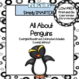 All About Penguins Emergent Reader Book AND Interactive Activities