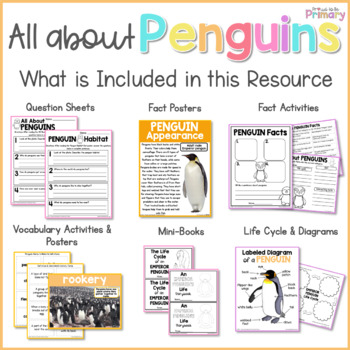 Penguins Non-Fiction ELA & Science Unit