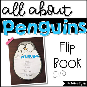 All About Penguins Flip Book