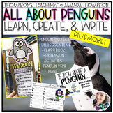 All About Penguins: Learn, Create, and Write