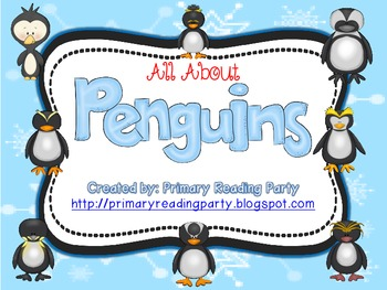 All About Penguins Literacy & Science Unit