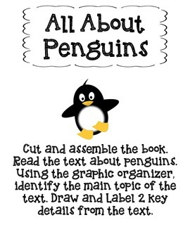 All About Penguins-Main Topic and Key Details