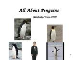 All About Penguins Reader