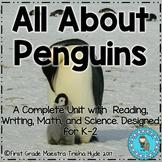 All About Penguins Reading Writing and Math