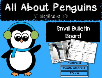 All About Penguins Small Bulletin Board Set