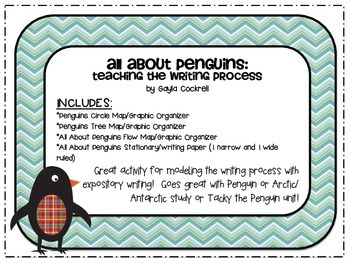 All About Penguins: Teaching the Writing Process