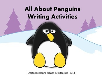 All About Penguins, Writing Prompts, Graphic Organizers, Diagram
