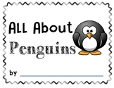 All About Penguins Writing Booklet
