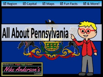 All About Pennsylvania   US States   Activities & Worksheets