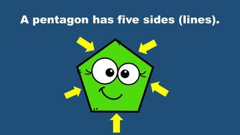 All About Pentagons - A PowerPoint Game