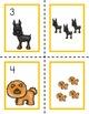 All About Pets Math centers for Preschool, PreK, K & Homeschool
