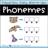 All About Phonemes - Unit 3 : Paperless Daily Lessons