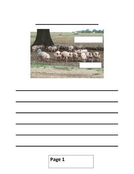 All About Pigs Writing