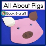 All About Pigs Craft and Guided Reading Book