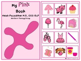All About Pink Interactive Book and Activities