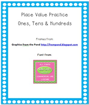 All About Place Value 2.NBT