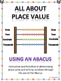 All About Place Value using an Abacus
