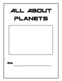 All About Planets Research Book