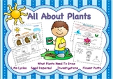 All About Plants- Science and Language Writing Pack