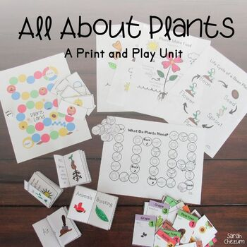 All About Plants- A Print and Play Unit