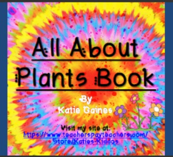 All About Plants BOOK