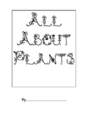 All About Plants Cover Sheet