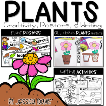 PLANTS! {Craft, Posters, & Writing} K-1