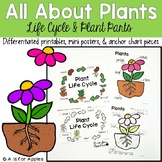 All About Plants! {Life Cycle & Parts}