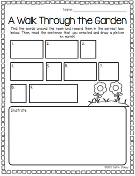 Plants: All About Plants- Math, Literacy, and More!