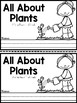 All About Plants {Mini-Reader}