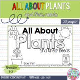 All About Plants NGSS mini-book