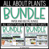 All About Plants Worksheets and Digital Activities Bundle
