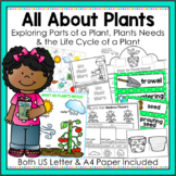 Life Cycle of Plants, Plant Needs, Parts of Plants for Kindergarten and Year 1