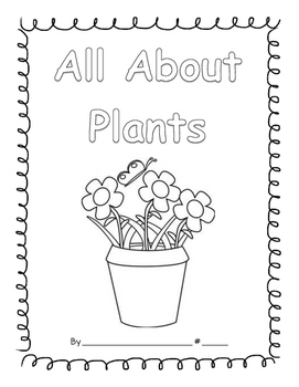 All About Plants writing Journal