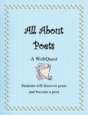 All About Poets Poetry WebQuest with Grading Rubic