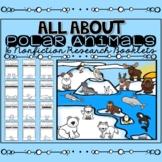 Polar Animals Research Booklet Bundle