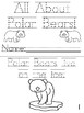 """""""All About Polar Bears""""  Cut, Trace and Color Printable Book!"""