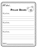 All About Polar Bears *Fact Writing*
