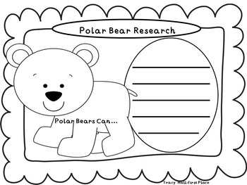 All About Polar Bears-Informative Writing